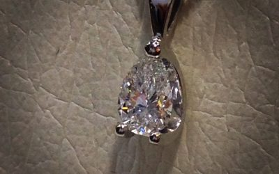 Beautiful GIA certificated Pear Shape diamond