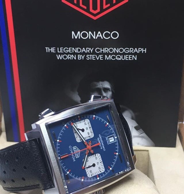 TAG Heuer Monaco Automatic Chronograph Wristwatch